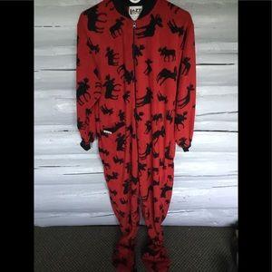 Other - Moose Footie Pajamas